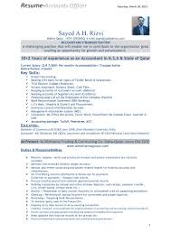 Cv Accountant Format New Accountant Job Resume Format Mailing
