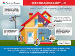 Georgia Power Customer Service Georgia Power Stresses Safety During Spring Storm Season Nicebot News