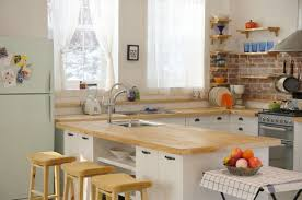 Grey Stained Kitchen Cabinets Warm Kitchen Cabinet Colors Stained Wooden Kitchen Island White