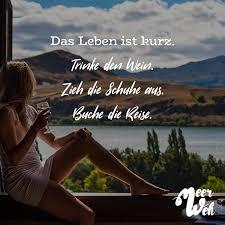Das Leben Ist Kurz Trinke Den Wein Zieh Die Schuhe Aus Buche Die