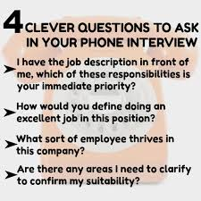 How To Answer Job Interview Questions Phone Interview Questions And Answers