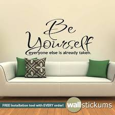 quote for wall wall quotes for bedrooms wall decal be yourself living room bedroom quote vinyl on vinyl wall art quotes for bedroom with quote for wall wall quotes for bedrooms wall decal be yourself