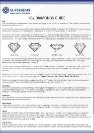Diamond Ring Color Chart Diamond Color Chart Pdf Format E Database Org