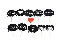 mr mrs photo booth props love diy on a stick photography wedding decoration party for fun favor photobooth photocall best wedding decor best wedding