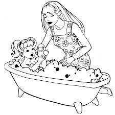 Small Picture Free Printable Barbie Coloring Pages Activity Sheets Paper