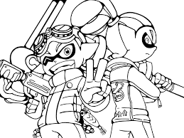 The Art Of Splatoon Nintendo Coloring Pages For All Ages Coloring