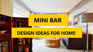 Exciting Mini Bar For Home Designs Set Stand Decorate