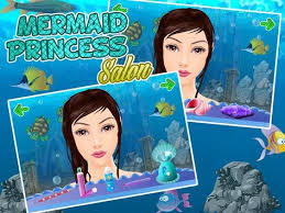 princess salon mermaid makeup apk screenshot