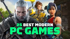 the top 25 modern pc games