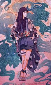 My Hinata Fanart ~ Lioness : Naruto