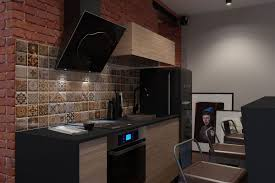 Bachelor Pad Design innovative industrial and spacesavvy tiny bachelor pad does it all 7890 by xevi.us