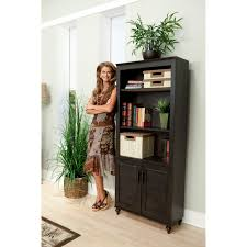 office bookcase with doors. kathy ireland office by bush furniture volcano dusk kona coast bookcase with doors hayneedle 5