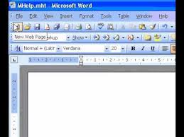 Microsoft Office Word 2003 Create A Resume Youtube