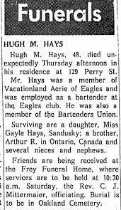 Hugh Hays Death - Newspapers.com