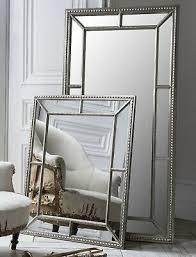 full length mirror bevelled antique