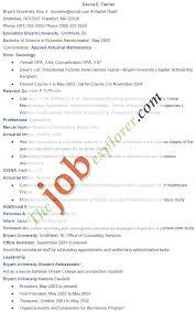 Entry Level Resume Sample Sample Entry Level Resume Template