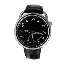 men s watches store hermes time pause ar8 910 330 mno 43mm hermes time pause ar8 910 330 mno 43mm automatic ion plated stainless steel case black