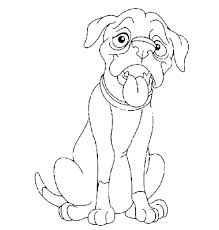 Dog Color Sheets Boxer Dog Coloring Pages Dog Color Pages Boxer Dog