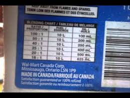 50 To 1 Gas Oil Mixture Chart Dixie Chopper Update Lawnboy Vid And How To Prepare A 32 1