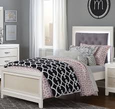 white upholstered twin bed. Contemporary Bed Evelyn White And Light Grey Twin Upholstered Bed From Ne Kids  Low  Frames To B