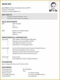 Sample Curriculum Vitae For Job Application Cv Job Application Best Solutions Of Curriculum Vitae Format For