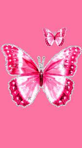 Pink Butterfly Wallpapers on WallpaperDog