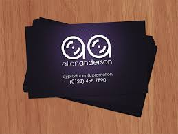 Dj Business Cards Ideas Uunilohiinfo