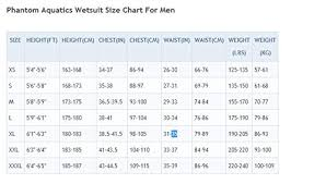 Phantom Aquatics Wetsuit Size Chart Phantom Aquatics Mens Marine Shorty Wetsuit Team Immortal