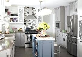 White Kitchen Idea Colour Schemes Simple Design