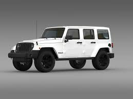 jeep rubicon 2014 black. jeep wrangler unlimited rubicon x 2014 3d model max obj 3ds fbx c4d lwo lw lws black