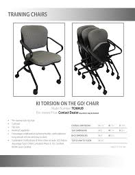 Comfort Chair Price Ki Torsion On The Go Chair Roe Recycled Office Environments Inc