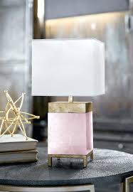 rose quartz crystal lamp uk table by 3