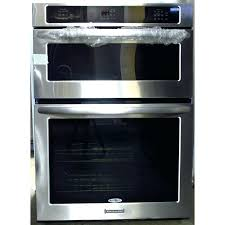 kitchen aid superba double oven wall ovens appliances the home depot in double electric wall oven