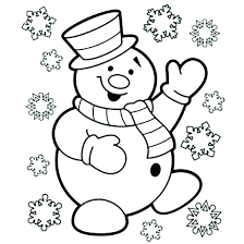Free Snowman Colouring Sheets Free Snowman Coloring Pages Free