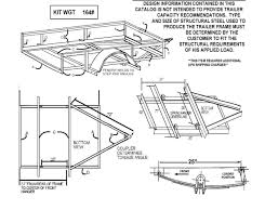 95 Single Axle Trailer Parts Kit 3 500lbs Gvwr