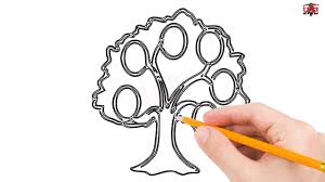 how to draw family tree how to draw a family tree step by step easy for beginners kids