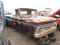 Junkyard Find: 1966 Chevrolet C10 Pickup - The Truth About Cars