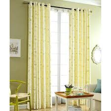 yellow grommet curtains yellow grommet window curtains