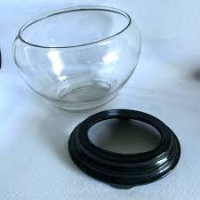 bowls large round fish bowl glass fishbowl vase tag vases size of rare art aquarium