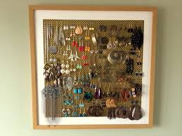 Diy Jewelry Holder Diy Earring Stand Crafthubs