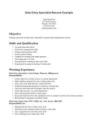 16 Data Entry Specialist Resume Resume Samples