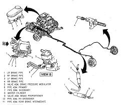 2003 pontiac aztek brake line diagram vehiclepad 2003 pontiac abs brake line routing gm forum buick cadillac chev olds
