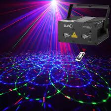 Star Light Laser Dancer Suny Laser Lights Laser Projector 12 Gobos In Blue Red Laser