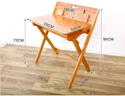 children folding study table portable bamboo writing desk modern foldable study table and chair