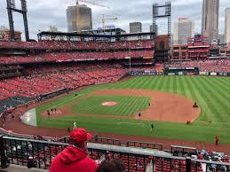 Busch Stadium Section 242 Home Of St Louis Cardinals