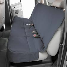 canine covers polycotton semi custom rear gray seat protector
