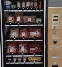 How To Rob Vending Machines Gorgeous A Meat Vending Machine Near My Hometown In Germany Imgur