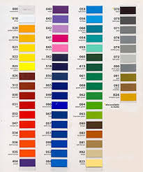 Oracal 651 Color Chart Oracal 651 Ultimate 5ft Length Assortment All 63 Colors Unbeatable Value