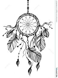 Native Dream Catchers Drawings Interesting Dream Catcher Traditional Native American Indian Symbol