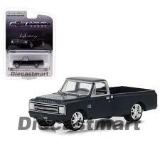 Greenlight 1967 Chevrolet C10 Black 1 64 Diecast Pickup Truck ...